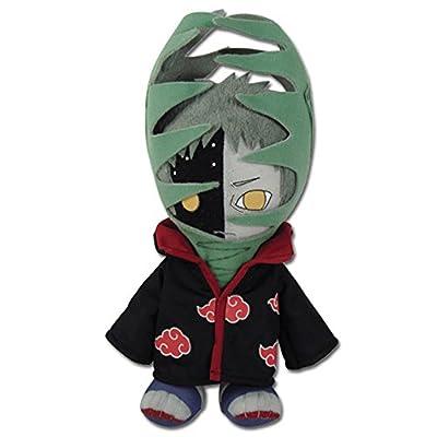 "GE Animation GE-8975 Naruto Shippuden Zetsu Stuffed Plush, 10"": Toys & Games"