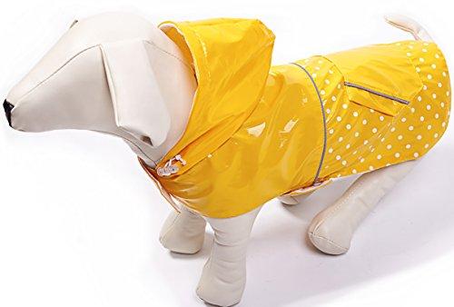 BINGPET Fashion Reflective Waterproof Raincoat