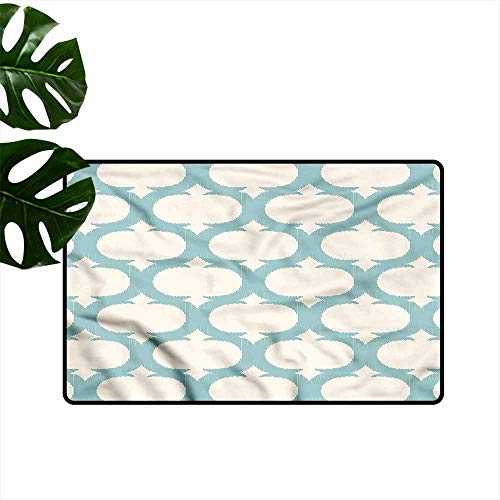Profile Aqua Rack - Fashion Door mat Aqua Mesh Arabic Curvy Figures with Anti-Slip Support W20 xL31