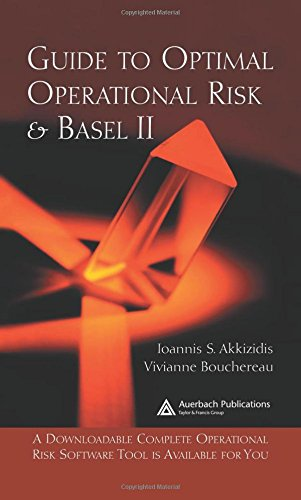 Book: Guide To Optimal Operational Risk And Basel Ii