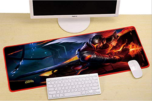 Large Classic Game Anime Art Mouse pad Game Computer Mouse pad Non-Slip Natural Rubber Gaming Mouse pad