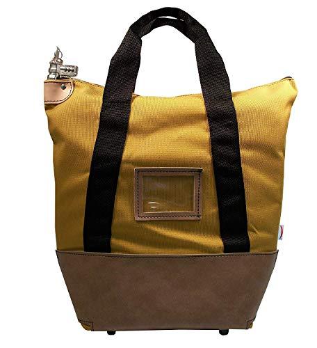 - Locking Courier Bag 1350 Denier Ballistic Weave Nylon Combination Lock Gold