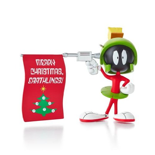 Hallmark Ornament Looney Tunes - Marvin the Martian - Merry Christmas Earthlings!