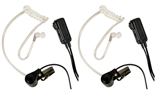 Midland Transparent Security Headsets with PTT/VOX Pair