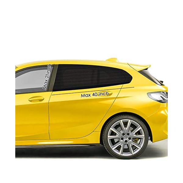 WEARXI Tendine Parasole Auto Bambini - 2 Pezzi Parasole Auto Bambini, Parasole Finestrino Auto Pellicola Oscuramento… 2 spesavip