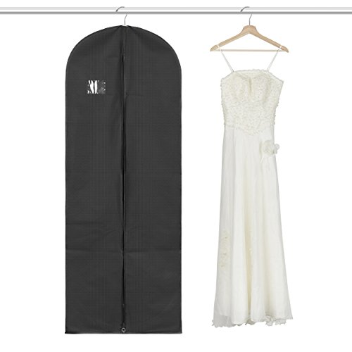 Dance Costumes Robe Purchase (Titan Mall Suit/Long Dress Garment Bag Black Robe Garment Bag (24