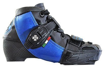 Luigino Kids Adjustable Inline Speed Skate Boot Blue Size 2-5