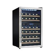 Danby DWC113BLSDB 38 Bottle Wine Cooler -Stainless Steel