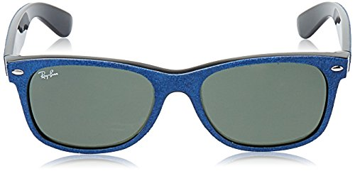 Ban Folding Alcantara Wayfarer Ray Wayfarer RB4105 soleil de Top mm Black Blue 50 Lunette pdYw1q