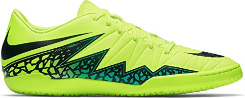 Nike Heren Hypervenom Phelon Ii Ic Voetbalschoen Volt, Black