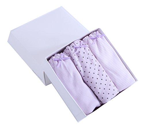 3 Sous Purple Shorts Mémoires Coton Girls vêtements 'cute Boyshort Boxers Abclothing Knickers Pcs Kids pAxwqTd4T