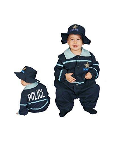Dress Up America Baby Police Officer Bunting