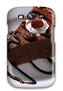 Anne C. Flores's Shop New Style Tpu S3 Protective Case Cover/ Galaxy Case - Food Cake 8957919K72998345