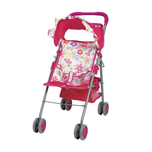 Toy Baby Doll Umbrella Stroller - 8