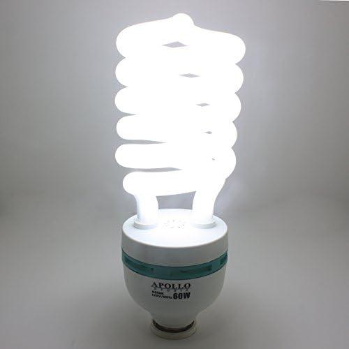 Photography Video Film 3200K Warm CFL Fluorescent Light Bulb 3200K BULB 45W3200K