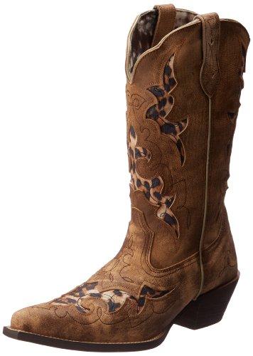 Women's Print Boot Leopard Western Laredo with Aphfrika Tan UdqU8