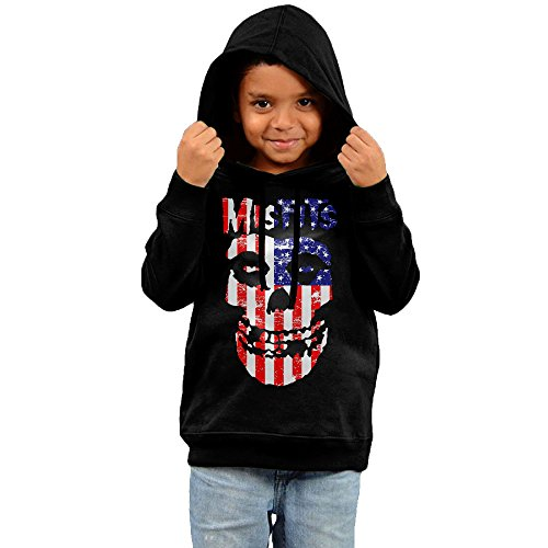 [Dora Misfits Children's Hoodies Size 4 Toddler Black] (Young Elvis Presley Costumes)