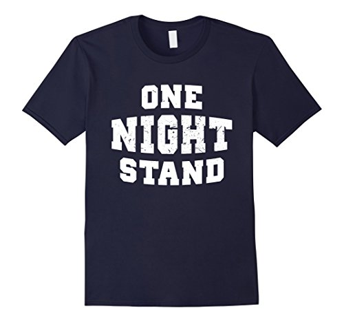 Funny Halloween Costumes One Night Stand (Mens One Night Stand Halloween Funny Costume Tshirt XL Navy)