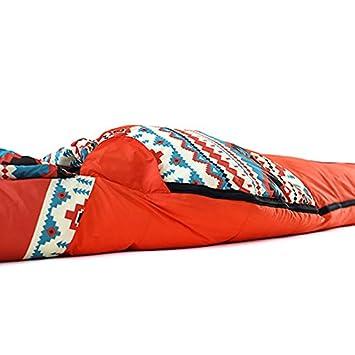 LOLIVEVE Saco De Dormir Saco De Momia Pato Abajo 10 Grados C Mantenga Caliente Bien Ventilado