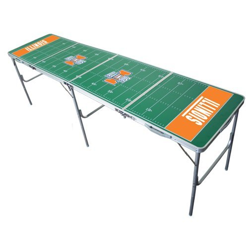 Illinois Fighting Illini 2x8 Tailgate Table by Wild Sports