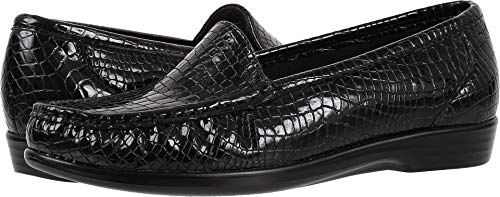 (SAS Women's Simplify Black Croc 8.5 W - Wide (C) US)