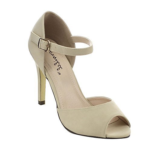Authentic Ladies Womens Ankle Strap - 8