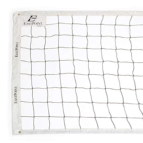 EastPoint Sports Replacement Volleyball Net - Features High Strength Cable, Reinforced Side Tapes, and Weather Resistant Material - Poles Not Included