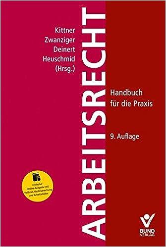 Arbeitsrecht Handbuch Für Die Praxis Inkl Online Ausgabe Mit