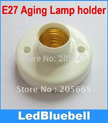Kamas E27 show lampholders E27 Edison screw lampholders aging lampholders white