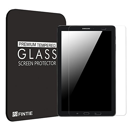 Fintie Tempered Glass Screen Protector for Samsung Tab A 10.1 Tablet (S Pen Version SM-P580), [Scratch Resistant] Premium HD Clear [9H Hardness] for Galaxy Tab A 10.1 Inch S Pen Version SM-P580 Tablet