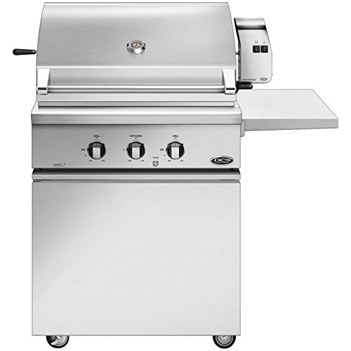 (DCS Series 7 Traditional 30-Inch Propane Gas Grill with Rotisserie On CSS Cart - BH1-30R-L)
