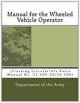 FM 21-305 MANUAL FOR THE WHEELED VEHICLE DRIVER FOR WINDOWS 8