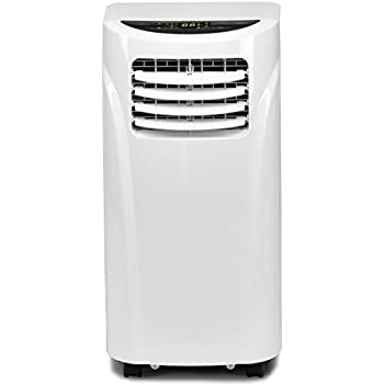 COSTWAY 10,000 BTU Portable Air Conditioner With Remote Control  Dehumidifier Function Window Wall Mount (White)