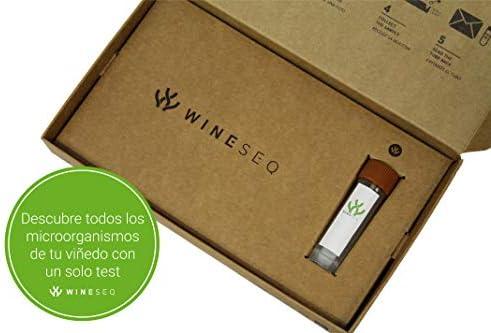 WineSeq Test – Test microbiológico Completo Sobre la Salud del Suelo del viñedo (5): Amazon.es: Jardín
