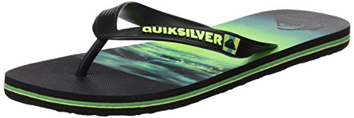 Molokai Black Noir Aqyl100409 Homme green Hold Quiksilver Down green Pour Tongs 8nwx1Cq6d