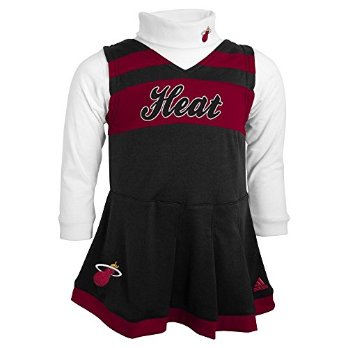 Cheerleader Heat - Miami Heat Cheerleader Dress, 12 Months