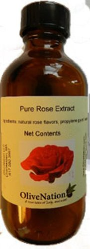 OliveNation Rose Extract - Extremely Concentrated Natural Rose Extract - Size of 2 oz by OliveNation