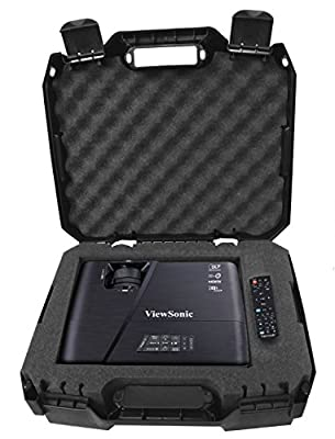 WORKFORCE Video Projector Carry Case With Protective Foam - Fits Viewsonic Lightstream XGA WXGA 1080p 3d Projectors - Models PJD7828HDL , PJD7720HD , Pro7827HD , PJD5553LWS  , PJD5353LS , ex5250