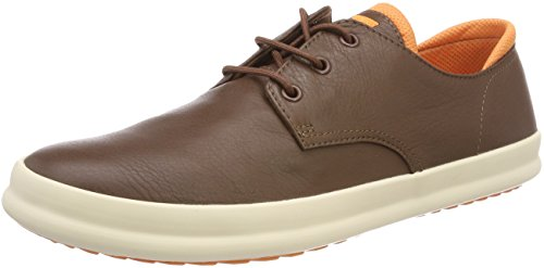 Camper Uomo Medium Oxford Chasis Scarpe 210 Brown Stringate Marrone wrwqvH