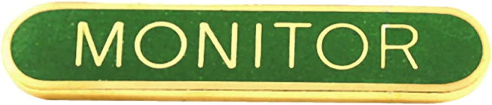 Capricornone Monitor School Bar Badge Handmade Vitreous Enamel