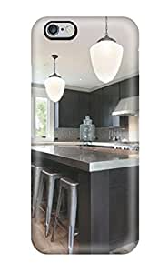 AeIbYpA11587GkuyI Snap On Case Cover Skin For Iphone 6 Plus(contemporary Black And Stainless Kitchen)