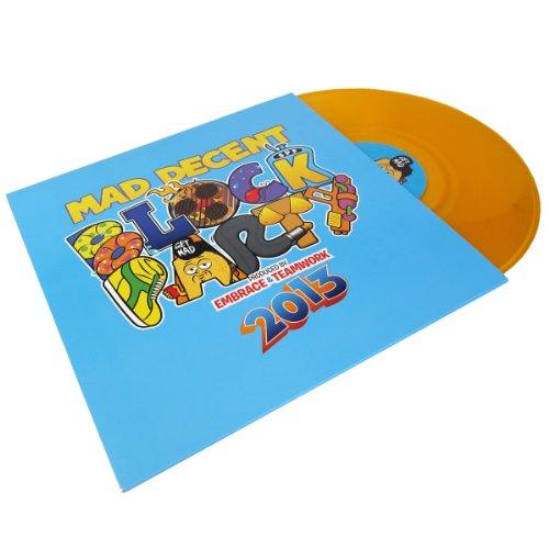 (Serato: Mad Decent Block Party Serato Neon Series - Orange 2LP)