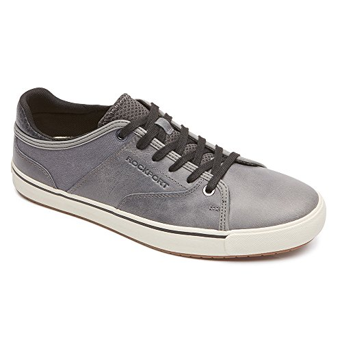 to Greatness Lace to Toe Sneaker,Grey Leather,US 11 M ()