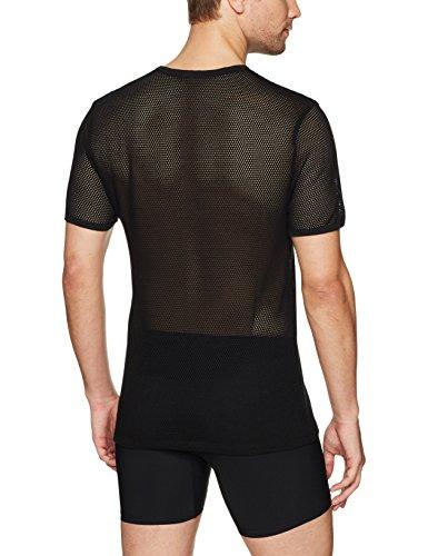 Calvin Klein Men's Body Mesh Short Sleeve Crew Neck Tee, Black, M by Calvin Klein (Image #2)