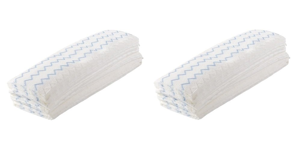 Rubbermaid Commercial Disposable Microfiber Mop Pads, 18-inch, 150 Pads, 1822352 (2 PACK)