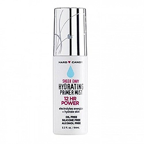 Hard Candy Sheer (Hard Candy Sheer Envy Hydrating Primer Mist, 1086 Silicone Free)