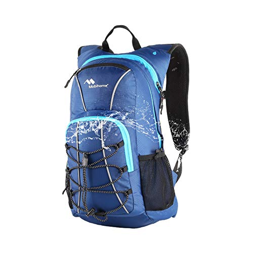 Mobihome Hydration Backpack & Sports Daypack -16L, with Multiple Storages & Security Features, Prefect Outdoor Gear for Hiking, Running, Cycling, Climbing - Replaceable Water Bladder is Not Included