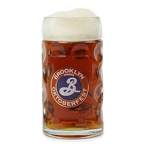 Brewery Stein - Brooklyn Brewery Oktoberfest Half-liter Glass Stein Beer Mug