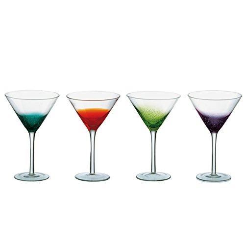Anton Studio Design Fizz Martini Glasses 12.3oz / 350ml - Set of 4 - Handmade Cocktail Glasses Anton Studio Designs COMINHKPR58440