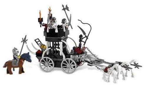 LEGO Skeleton Prison Carriage (Carriage Caravan)
